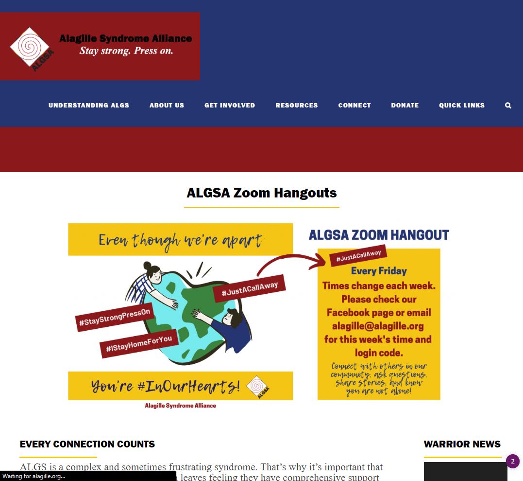Alagille Syndrome Alliance - Alagilles | Liver Disease | ALGSA