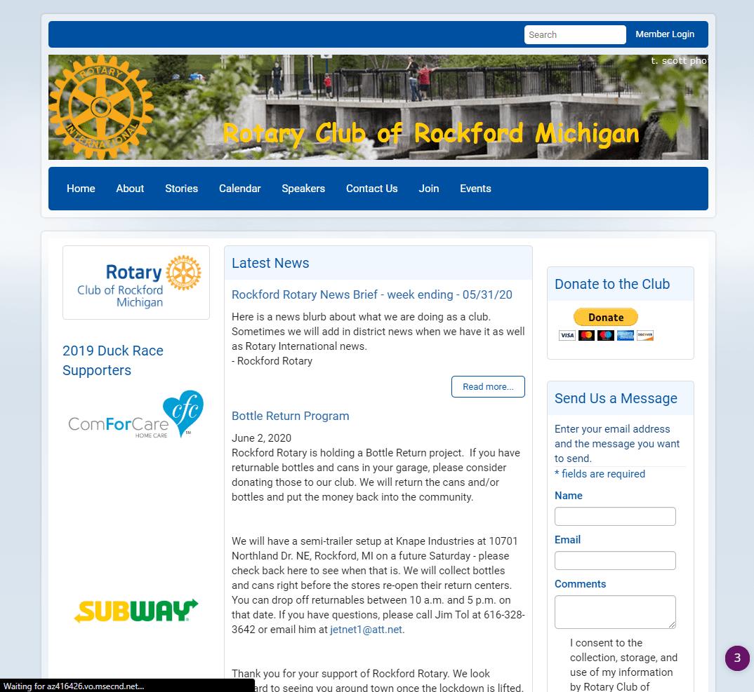 Rockford Michigan Rotary Club - Rotary | Service Above Self | Rockford Michigan