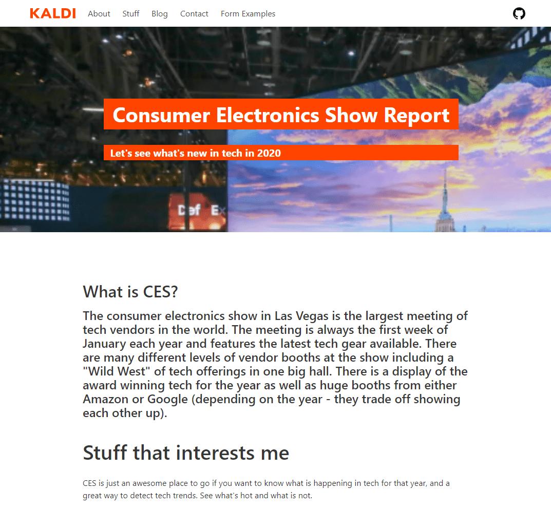 Super Fast GatsbyJS site - Mobile Friendly | Fast | SEO Friendly